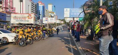 CDE: manifestantes empiezan a concentrarse en la zona céntrica