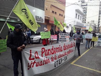 """Docentes se manifestarán ante """"tijerazo"""" en el PGN 2021"""