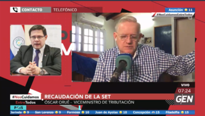 HOY / Óscar Orué, viceministro de Tributación, sobre recaudación de la SET