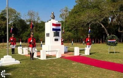 Se conmemoran 154 años de la victoriosa Batalla de Curupayty