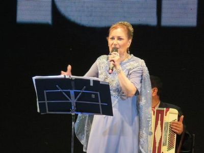 Falleció la cantante Ramona Galarza, figura del chamamé