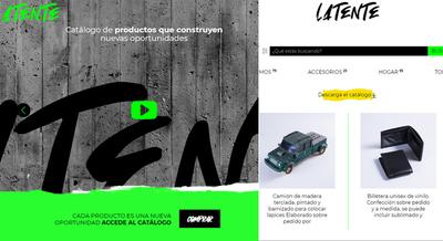 CREAN SITIO WEB PARA LA VENTA DE PRODUCTOS DE PERSONAS QUE RECUPERARON LA LIBERTAD