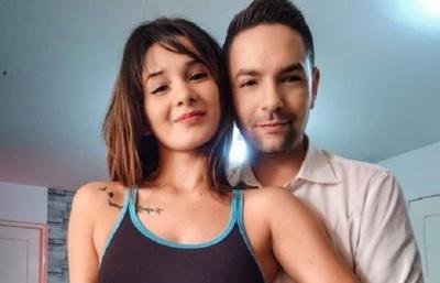 Mariela Bogado cantó para su marido, Fernando Eid