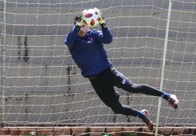Antony Silva ya practica en Nacional