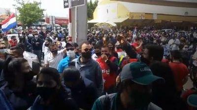 Multitudinaria movilización ciudadana para exigir la reapertura de la frontera