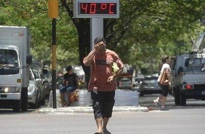Gradual aumento de la temperatura desde mañana, con un fin de semana de 40ºC