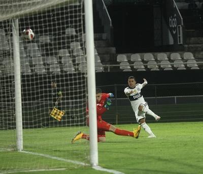 Los goles y la asistencia de Derlis González