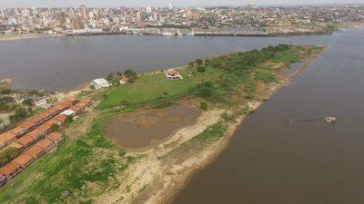 Resaltan la necesidad de dragados en el Río Paraguay ante histórica bajada