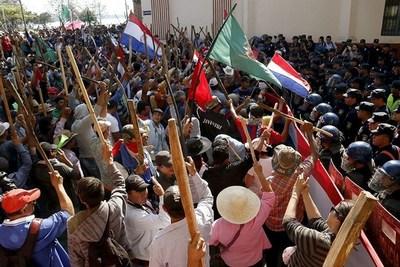 """MCNOC anuncia protestas para exigir recuperación de """"tierras en manos de narcos"""""""