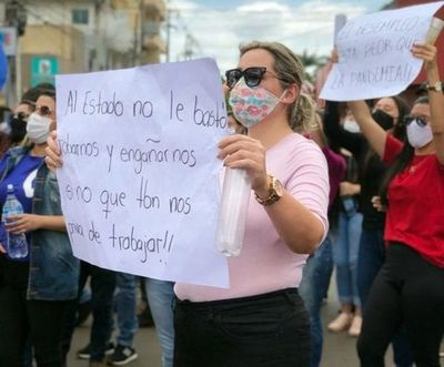 Comerciantes se manifestaron exigiendo la reapertura de la frontera