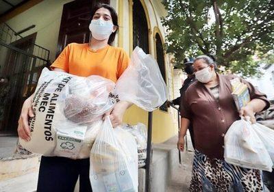 El MEC logra distribuir cerca de 400.000 kits de alimentos durante la pandemia