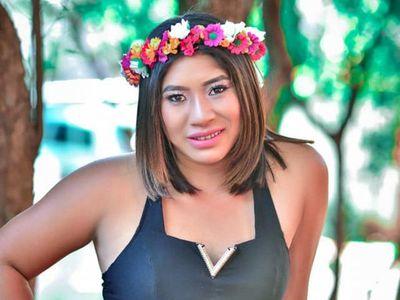 Indígena Mbya participa de concurso de Miss Primavera
