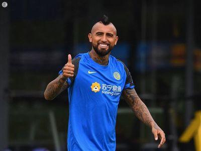 """Vidal comienza """"con mucha ilusión"""" su nueva etapa en el Inter"""