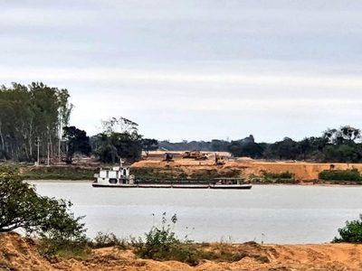 Río Paraguay a punto de alcanzar su baja histórica