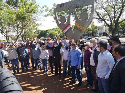 Gobernador de Amambay anunció que el 29 de setiembre se abre la frontera