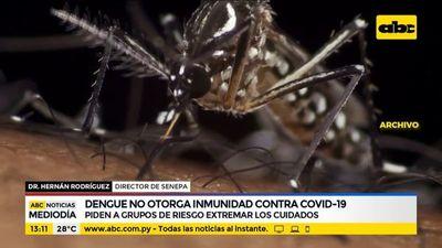 Piden a grupos de riesgo extremar cuidados con el dengue