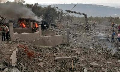 Fuerte explosión en un edificio de Hezbollah que funcionaba como depósito de municiones en el sur del Líbano – Prensa 5