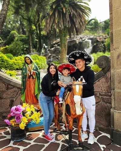 Crónica / ¡Recuerdo con el caballito de la Basílica Virgen de Guadalupe!