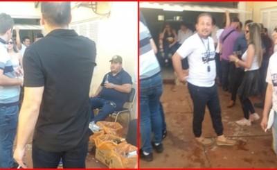 Filtran fotos de supuesto festejo en predio de la Municipalidad de CDE