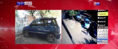 Encuentran vehículo de presuntos asaltantes de pollería