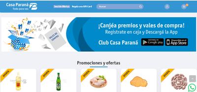 Casa Paraná lanza su página web