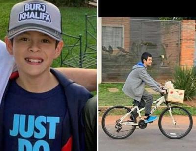 Buscan a un niño de 12 años desaparecido en zona de Luque