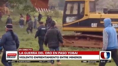 Entablan querella adhesiva contra mineros de Paso Yobái