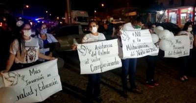 Realizan caravana por la paz en el distrito de Yby Yaú y piden liberación de Oscar Denis
