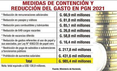 Presupuesto 2021 genera un cruce entre Petta y Benigno López