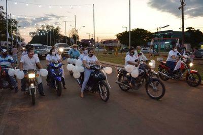 Yby Yaú marcha por la libertad de los secuestrados