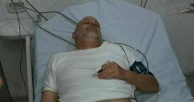 La Nación / Payo Cubas fue internado en terapia intermedia