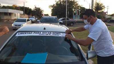 """Yby Yaú: Se llevó a cabo la """"caravana por la paz"""", exigiendo liberación de secuestrados"""