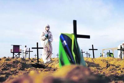 Covid-19: Brasil reporta 809 muertes en 24 horas
