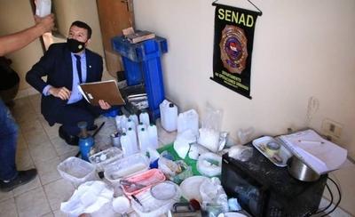 HOY / Desmantelan un laboratorio de procesamiento de cocaína y detienen a un brasileño