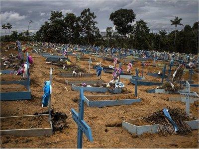 Brasil registra 836 muertes y 33.536 casos en las últimas 24 horas