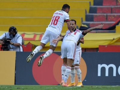 Flamengo vuelve a celebrar y noquea al Barcelona