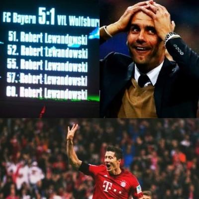 Se cumplieron cinco años de los 5 goles de Lewandowski en menos de 10 minutos