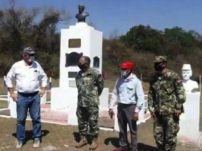 Realizan mejoras en  sitios históricos de la Guerra Guasu