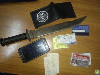 Con machete asaltaron a transeúnte en Luque •
