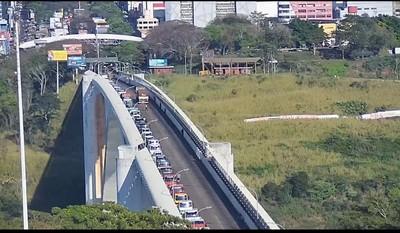 Bolsonaro decidirá CUANDO se abre el PUENTE DE LA AMISTAD