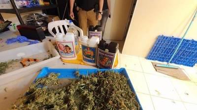 Con 12 allanamientos simultáneos la SENAD dio un golpe al tráfico de drogas al menudeo