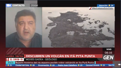 HOY / Moisés Gadea, geólogo, sobre el islote que fue parte de un volcán en Ita Pytã Punta