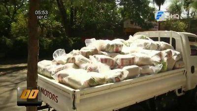 Juntan más de 100 toneladas de víveres para las comunidades que rechazaron al EPP
