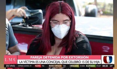 Extorsión por fiesta de 15 acaba con detención de falsos fiscales