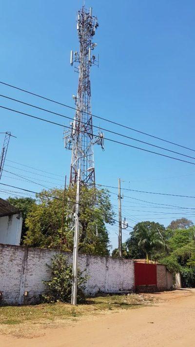 Antena de telefonía ¿paga alquiler por usar predio municipal?