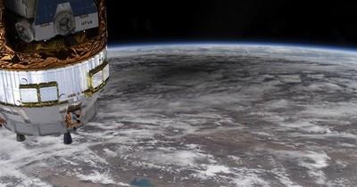 La Nación / Estación Espacial maniobró para evitar colisión con escombros de un cohete