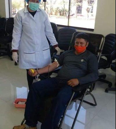 Captan donantes de sangre en Santa Rita