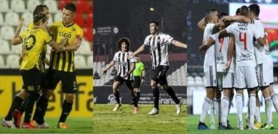 Olimpia, Libertad y Guaraní entran en acción en la Libertadores