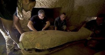 La Nación / Descubren catorce sarcófagos de 2.500 años de antigüedad en Saqqara, Egipto