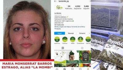 """HOY / Marihuana VIP: una """"emprendedora"""" de huertas, entre los jóvenes detenidos"""